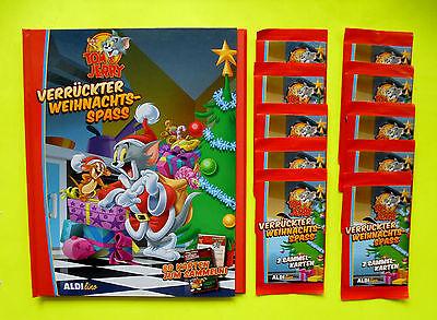 10 Sammel Tüten Tom Jerry Verrückter Weihnachts Spass Album (Weihnachten Sammelalbum)