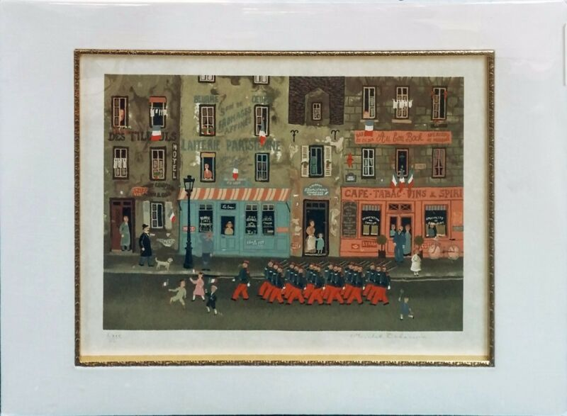 "Michel Delacroix ""le Defile Du 14 Juillet"" 