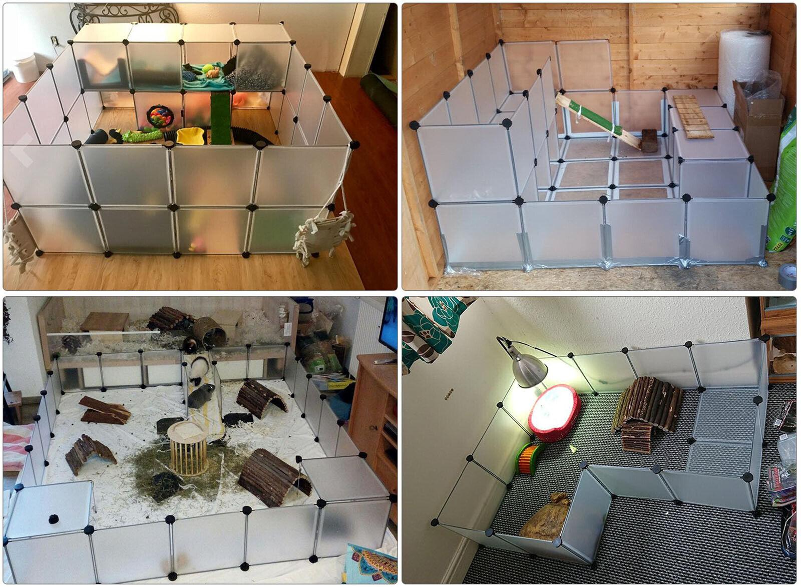 pet playpen indoor small animal cage rabbit