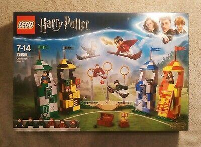 LEGO Harry Potter Quidditch Match Building Set (75956). Brand New.
