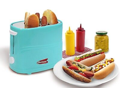 Hot Dog Toaster Nourishment Dinner Electrics Machine Cooker Pop-Up Home Cooking Roller