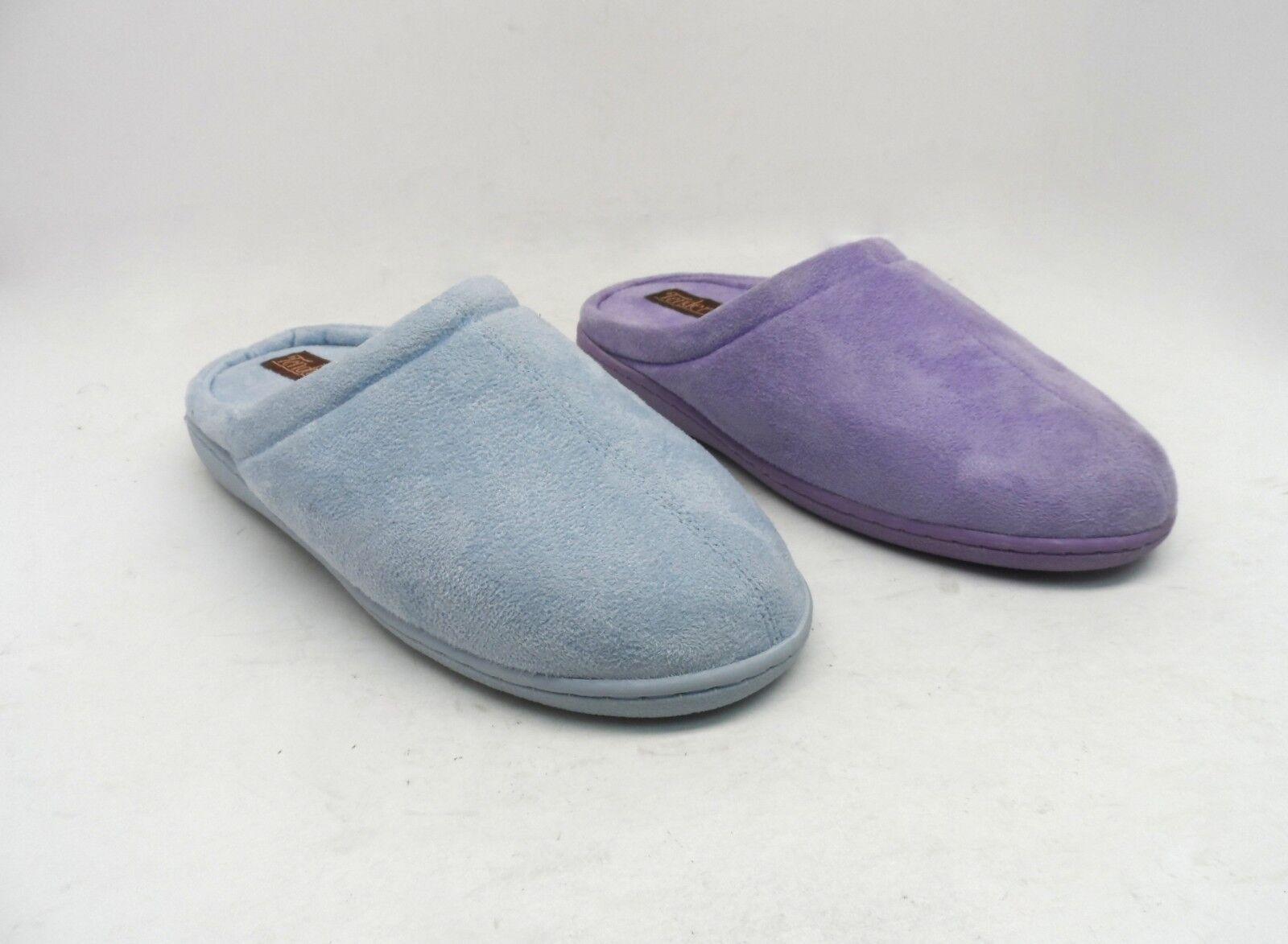 Tender Feet Women's Memory Foam Slippers 100% Polyester Fibe