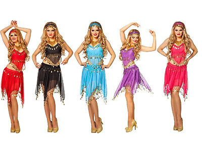 Haremsdame 1001 Nacht Kleid Kostüm Damen Bollywood Orient - Bollywood Prinzessin Kostüme