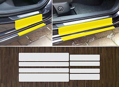 Lackschutzfolie transparent Einstiege Türen passgenau für Audi A4 B8, 2008-2015