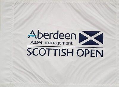 Golf Fahne Golf Pin Flag Scottish Open European Tour Rafa C. Bello Winner 2017