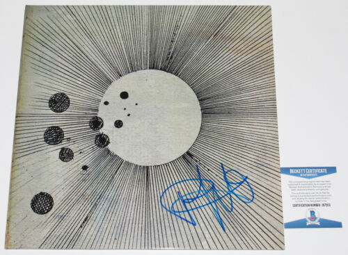 FLYING LOTUS SIGNED COSMOGRAMMA ALBUM VINYL LP STEVEN ELLISON BECKETT COA BAS