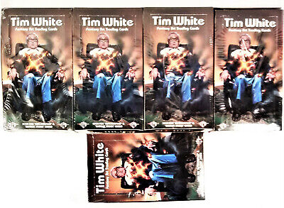 Tim White Fantasy Art Trading Cards, Unopened Factory Sealed Boxes (5 Box Lot) Art Box Trading Cards