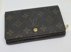 Louis Vuitton Wallet Monogram Browns Authentic