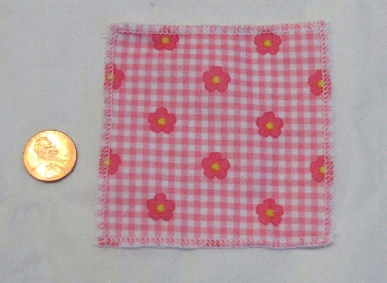 New! FISHER PRICE Loving Family Dollhouse FLORAL BLANKET for