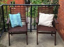 Teak outdoor chairs (2 for sale)! Manly Vale Manly Area Preview