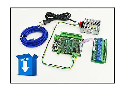 Centroid 4 Axis Acorn Diy Cnc Motion Controller Kit Rev 4 With Cnc Software...