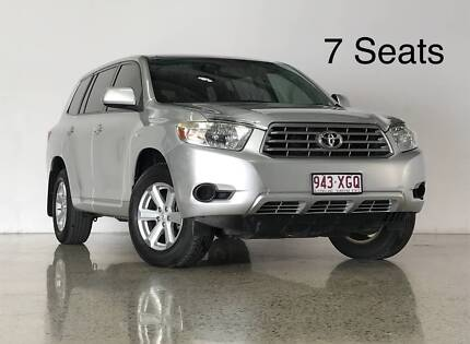 2007 Toyota Kluger 7 Seat SUV Ashmore Gold Coast City Preview