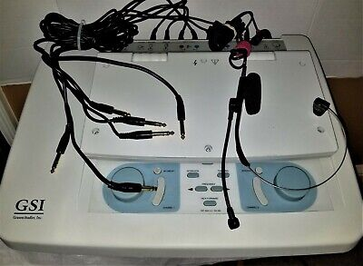 Grason Stadler Gsi 61 Two Channel Diagnostic Clinical Audiometer