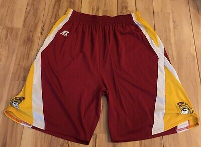 Men's USC Trojans Tommy Patch College Basketball Shorts Russell Athletic Size XL Trojans Mens Basketball