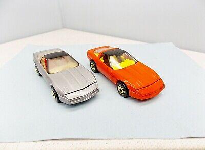 Hot Wheels 80's Corvette Lot - NEAR MINT BLISTER PULL - Vintage Hot Ones