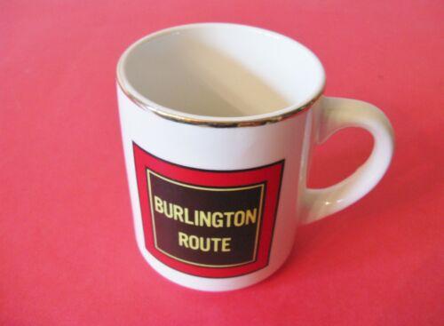 VINTAGE BURLINGTON ROUTE COFFEE MUG