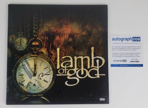 Lamb Of God Autographed Self Titled Vinyl LP #1 (ACOA)