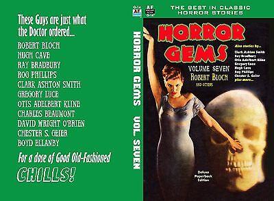 Armchair Fiction, HORROR GEMS Vol. Seven, R. Bloch, Great Stories for Halloween](Fiction Halloween Stories)