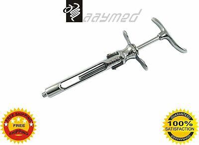 Dental Syringe 1.8ml Self Aspirating Cartridge Folding Type Dental Surgical Ce
