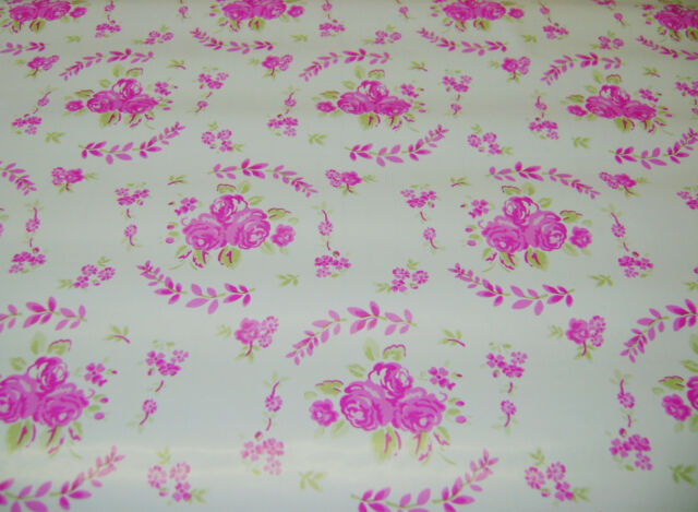 NEW VINTAGE STYLE FLORAL VINYL COVER ROLL FILM STICKY BACK PLASTIC 1.2M SIL LTPF