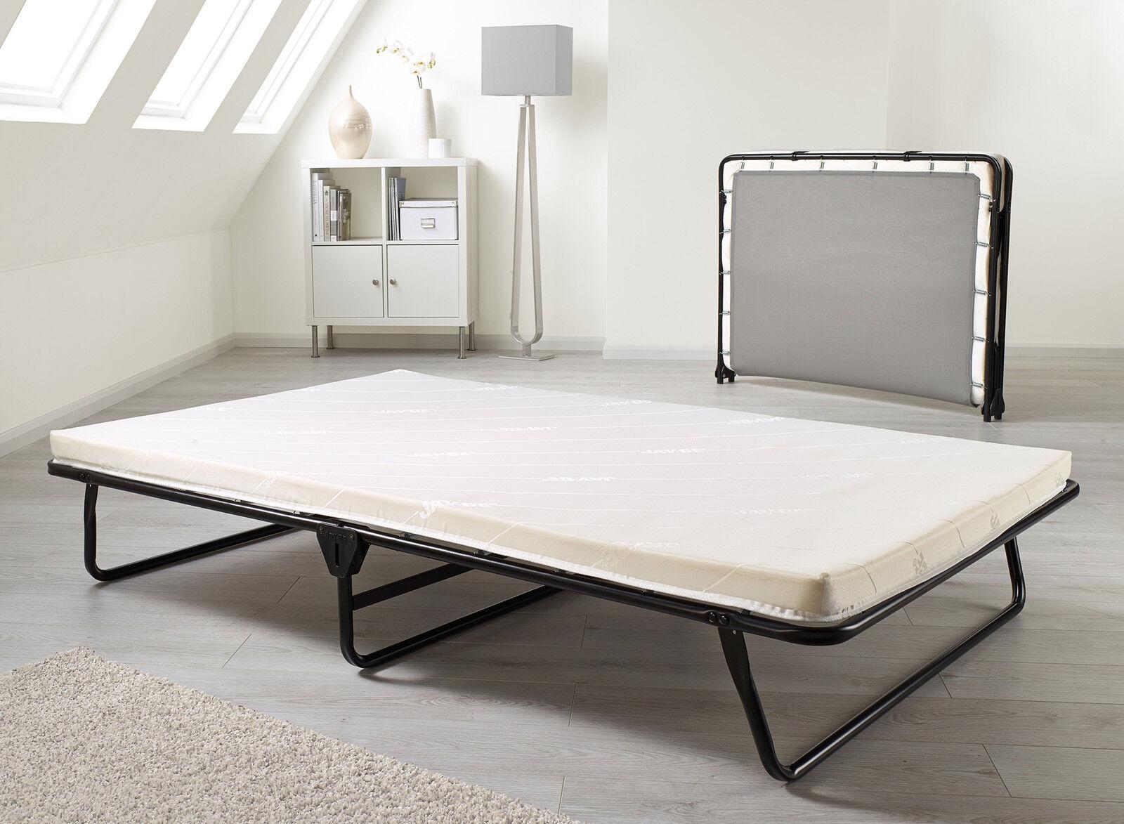 - Jay Be Core Memory Folding Double Guest Bed With Memory Foam Mattress EBay