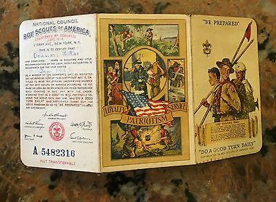 Boy Scouts Of America 1945 BSA REGISTRATION MEMBERSHIP CARD