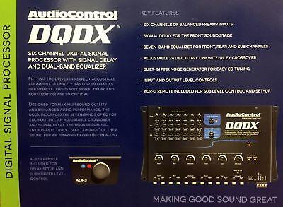 NEW Audio Control DQDX 6-Channel Performance Digital Signal Processor with EQ