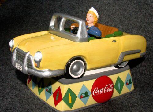 Coca Cola - Drive Refreshed Cookie Jar ~ MIB