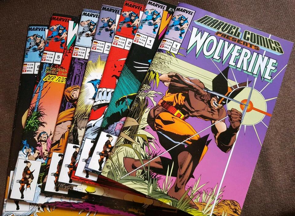 Wolverine Comics Panini Collection 1 im Schuber ( 2002 ) in Freigericht