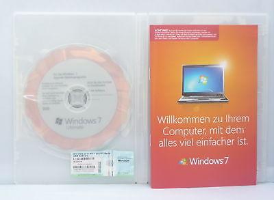 Microsoft Windows 7 Ultimate 64Bit - Upgrade von Win Vista Ultimate -  ()