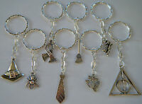 8 X Harry Potter Theme Keyrings Party Bag Fillers Favors Gifts Prizes Freepost - unbranded - ebay.co.uk