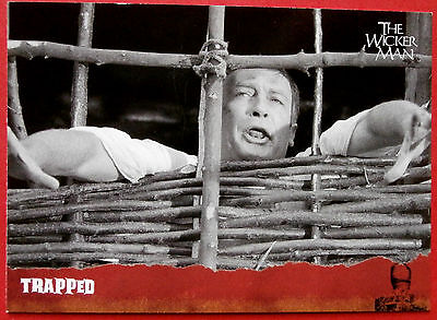 THE WICKER MAN Card # 34 - Trapped - (Edward Woodward) - Unstoppable Cards 2014
