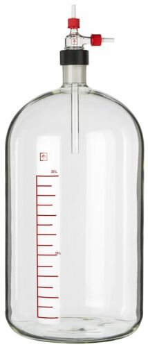 Ai 20L Heavy Wall Glass Vacuum Filtering Carboy