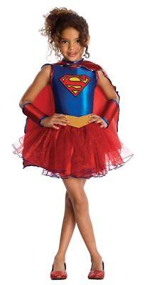 Neu Justice League Kinder Supergirl Tutu Kleid Up Medium 8-10