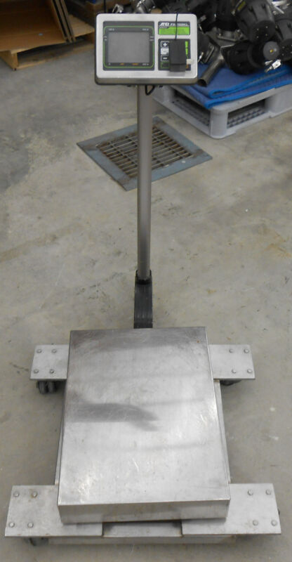 A & D FS-KL SERIES 150KL CHECK WEIGHING SCALE
