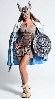 Womens Sexy Viking Costume, Female Viking Costume