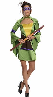 Adult TMNT Ninja Turtle Donatello Costume (e)](Ladies Ninja Turtle Costume)