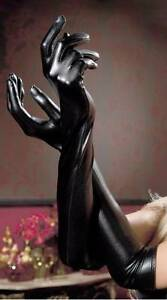 Ladies' Long Latex Gloves Black Sydney City Inner Sydney Preview
