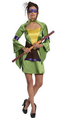 ADULT SEXY DONATELLO NINJA TURTLE COSTUME SIZE LARGE](Ladies Ninja Turtle Costume)