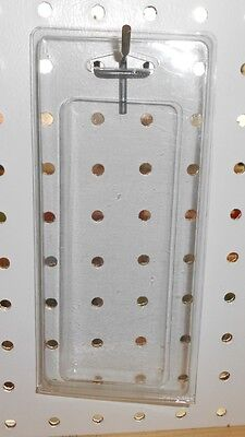 "100 clear retail hang sell display storage packages -2 1/4"" x 5 3/4"""