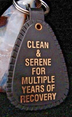 KEY TAG GRANITE 1 DECADE 10+ yr recovery Lot Of 10 Narcotics Anonymous