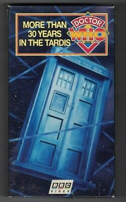 MORE THAN 30 YEARS IN THE TARDIS-DOCTOR WHO ANNIVERSARY DOC.-RARE 1994 (More Than 30 Years In The Tardis)