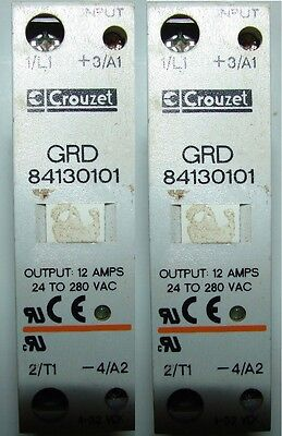 Crouzet Grd 84130101grd84130101 Solid State Relay Lot Of 2 Xlnt