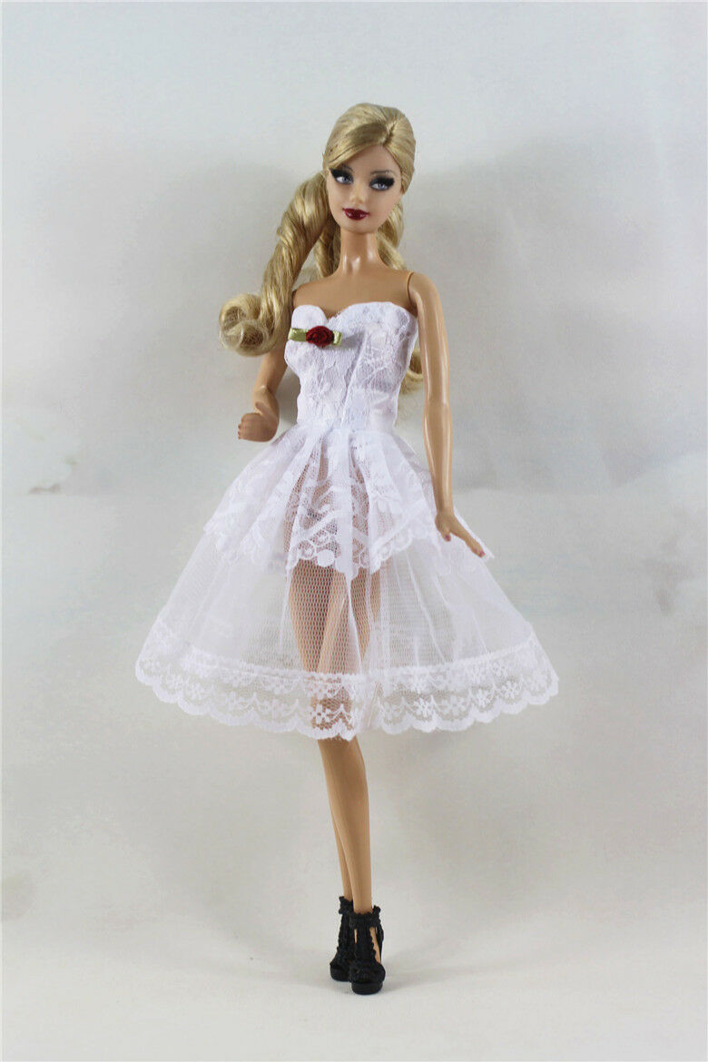 Lovely Fashion Dress/Clothes/Ballet Dress For Barbie Doll b01