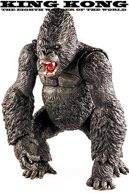 "Big Size 35cm 14/"" King Kong Figure Action Skull Island Gorilla Statue Model"