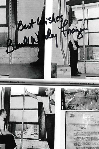 Buell Wesley Frazier autograph JFK Assassination Oswald Friend EX RARE COA LOOK!