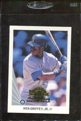 Seattle Mariners   1998 Leaf #156 Ken Griffey Jr. CC curtain
