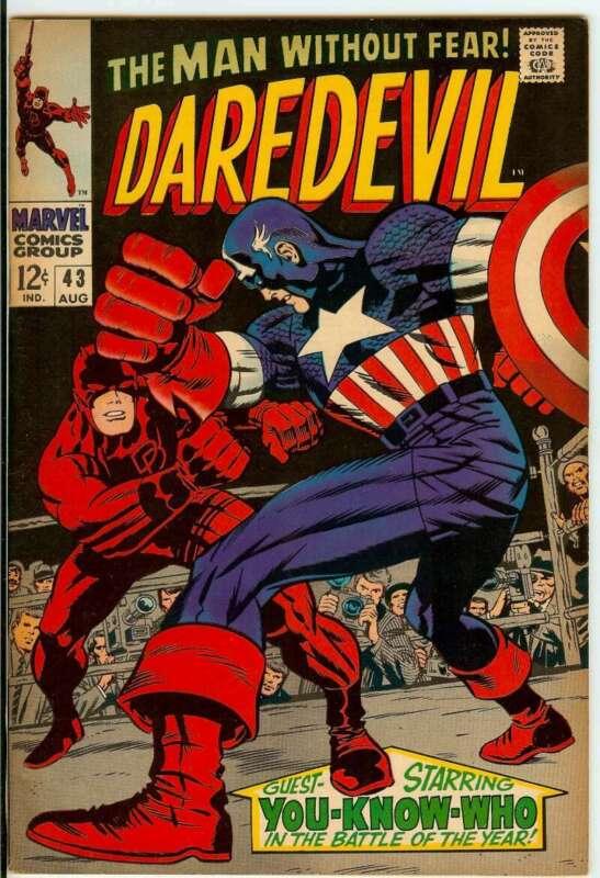DAREDEVIL #43 6.5
