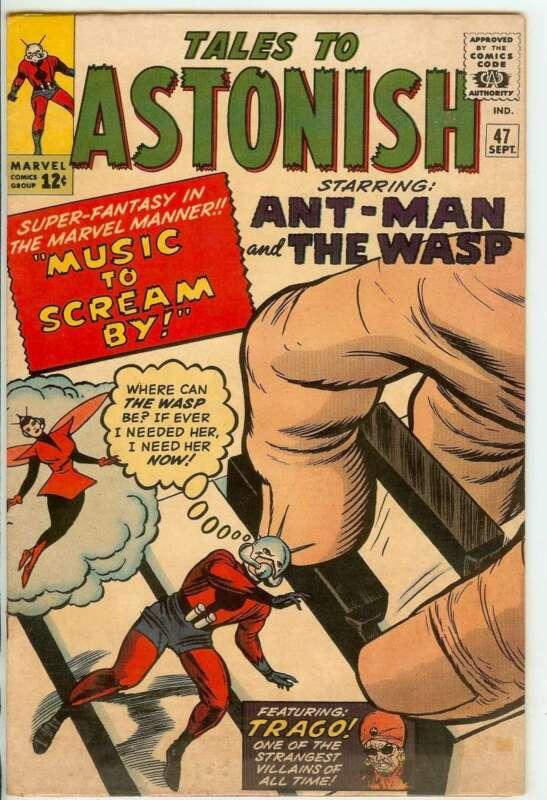 TALES TO ASTONISH #47 6.5