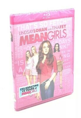 Mean Girls (Blu-ray Disc, 2019; 15th Anniversary Ed.) NEW with Pink Case - Pink Girl Movie